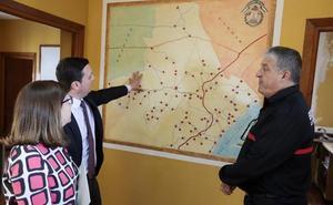 Diputación invertirá 300.000 euros para remodelar el parque de bomberos de Albox