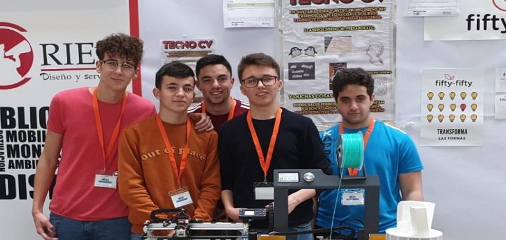 TecnoCV, del Cura Valera de Huércal-Overa, premio a la mejor iniciativa emprendedora