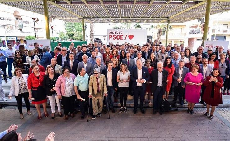El PSOE se da un baño de masas en Cuevas