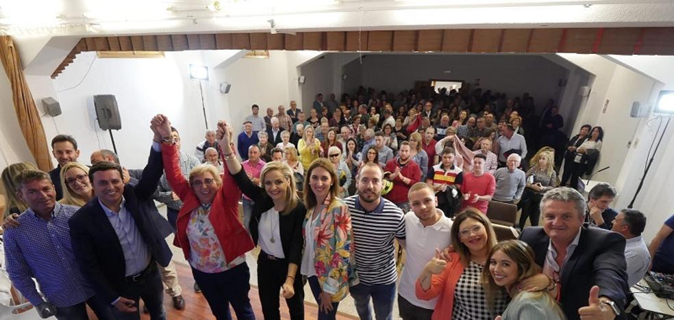 Belmonte se presenta a la reelección en Antas