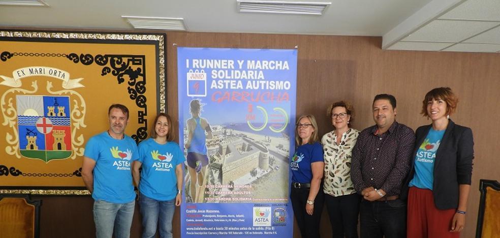 Garrucha celebrará una carrera solidaria en favor de Astea