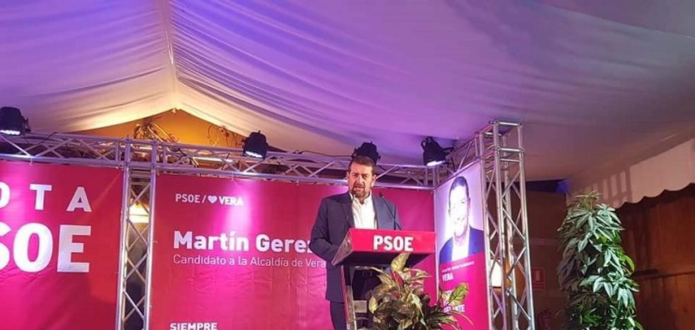 El PSOE de Vera afea que el PP haya rechazado un debate entre candidatos