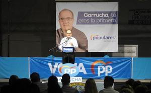 Los populares prometen que Garrucha no se saldrá de Galasa