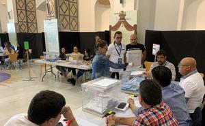 Desciende la participación en los grandes municipios del Levante