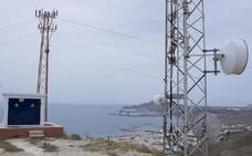 Finaliza la instalación del nuevo repetidor de televisión de Carboneras