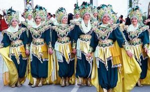 Dan comienzo en Mojácar las Fiestas de Moros y Cristianos