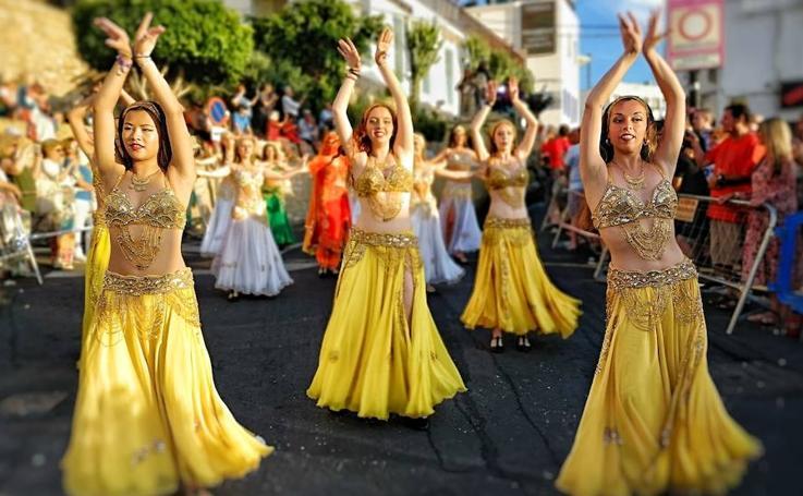 Así ha sido el desfile de Moros y Cristianos de Mojácar