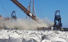 Denuncian ante la Guardia Civil los vertidos de graneles en Carboneras