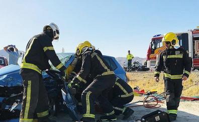 Una colisión entre dos vehículos deja varios heridos en Cuevas del Almanzora