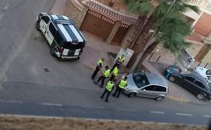 Una mujer detenida por atropellar a dos ciclistas en Cuevas del Almanzora