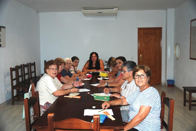Los talleres de memoria para la tercera edad han comenzado en Mojácar