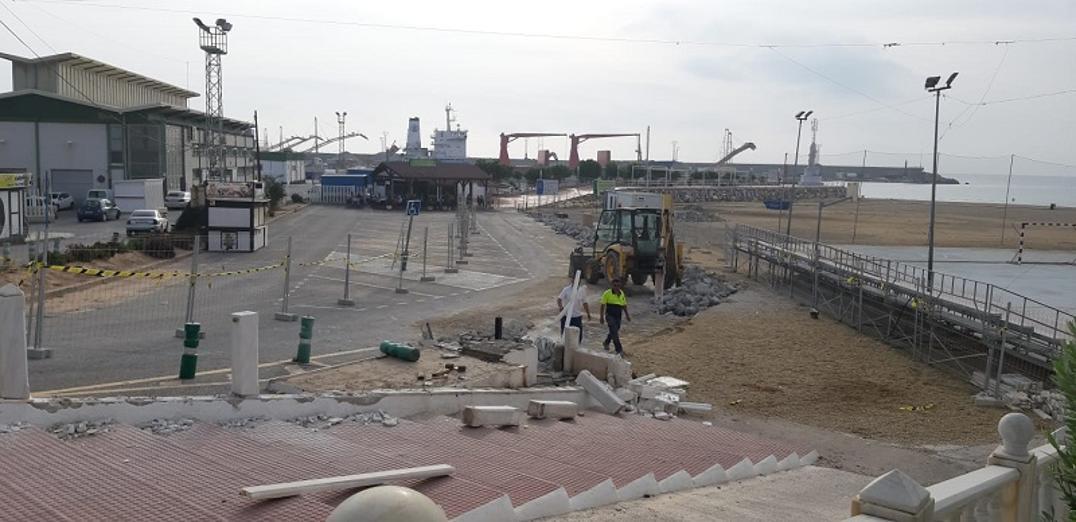 Comienzan las obras de segunda fase en el paseo de la Virgen del Carmen