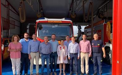 La alcaldesa de Mojácar repite como presidenta del Consorcio de Bomberos
