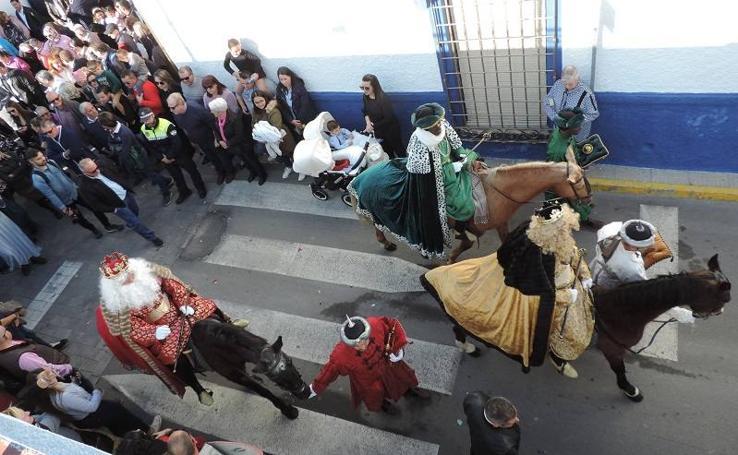 Así ha sido la representación del Auto Sacramental de los Reyes Magos en Los Gallardos