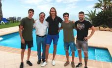Los hermanos Márquez visitan Mojácar un año más