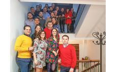 La Peña Azulilla Valgas Fresa celebró su décimo aniversario
