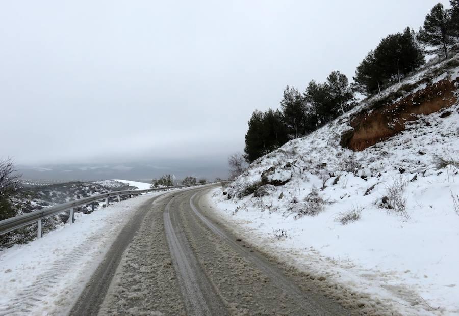 Las fotos de la nevada sobre Loja