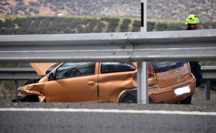 Dos heridos en un accidente en Salar