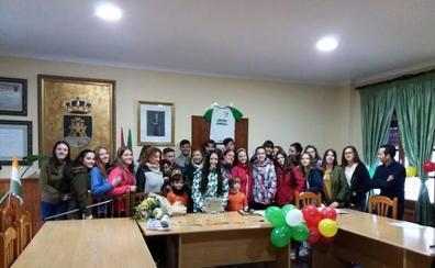 Zagra homenajea a su joven paisana Noelia Nogales, campeona de España de Fútbol Sala