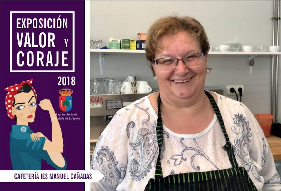 'Valor y coraje' expone en Moraleda el papel de la mujer en el mundo laboral