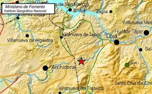 Registrado un terremoto de 3,3 al suroeste de Loja