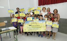 Escolares del colegio rural de Venta Nueva ganan un concurso nacional con un proyecto educativo sobre reciclaje