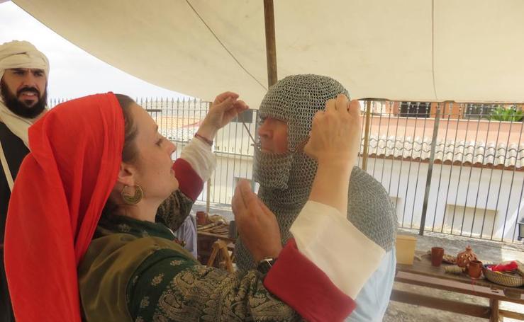 Loja Dos Reinos, Dos Culturas: la recreación de la vida cristiana y nazarí