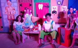 Teatro estival en las guarderías de Huétor Tájar