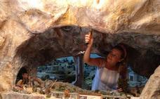 Huétor Tájar arranca la instalación de su Belén Monumental en pleno mes de agosto