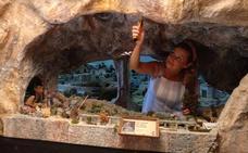 Arranca el Belén Monumental de Huétor Tájar en pleno agosto