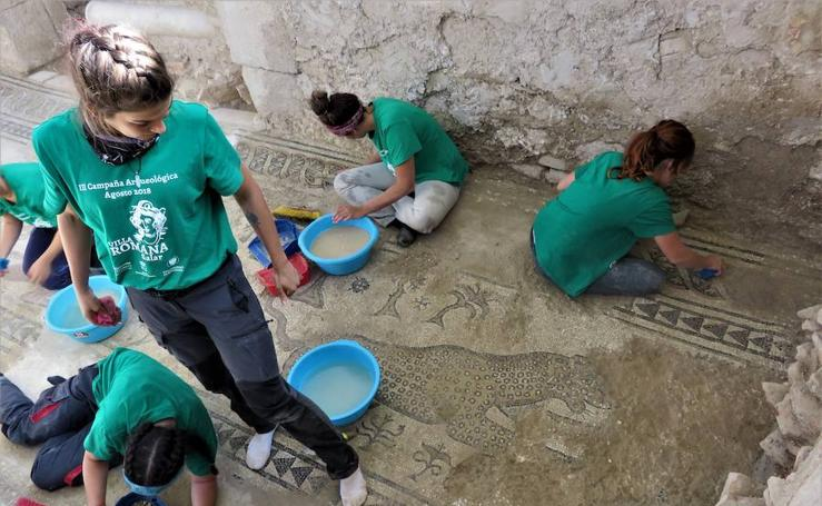 La Villa Romana de Salar será BIC antes de que acabe el año