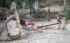 La lluvia anega Riofrío
