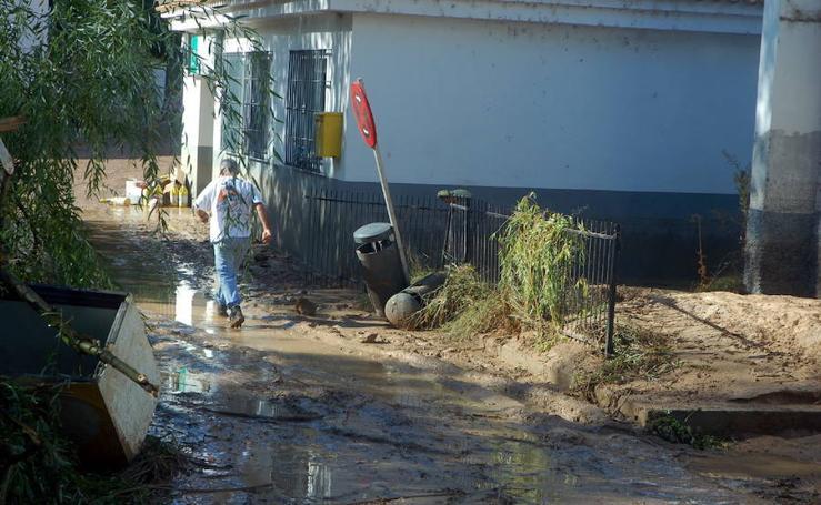 Una riada arrasó la piscifactoría en 2007
