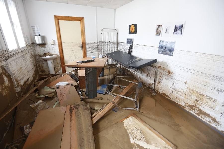 Así está Riofrío, un día después de la catástrofe