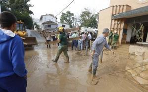 Así está Riofrío el día después de la inundación