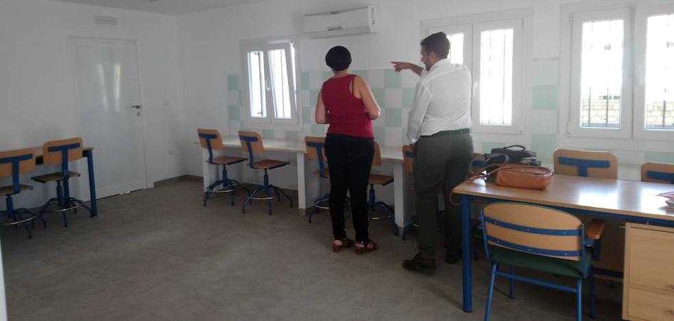 El colegio Caminillo, preparado para estrenar un nuevo espacio experimental y manipulativo