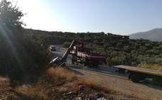 Nuevo accidente en la carretera de Ventorros, que aún espera su mejora