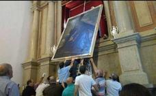 Moclín empieza a recibir a los devotos del Cristo del Paño, expuesto al público desde ayer