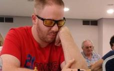 El hueteño Javi Gámiz, único representante granadino en el XXI Open de Ajedrez para ciegos
