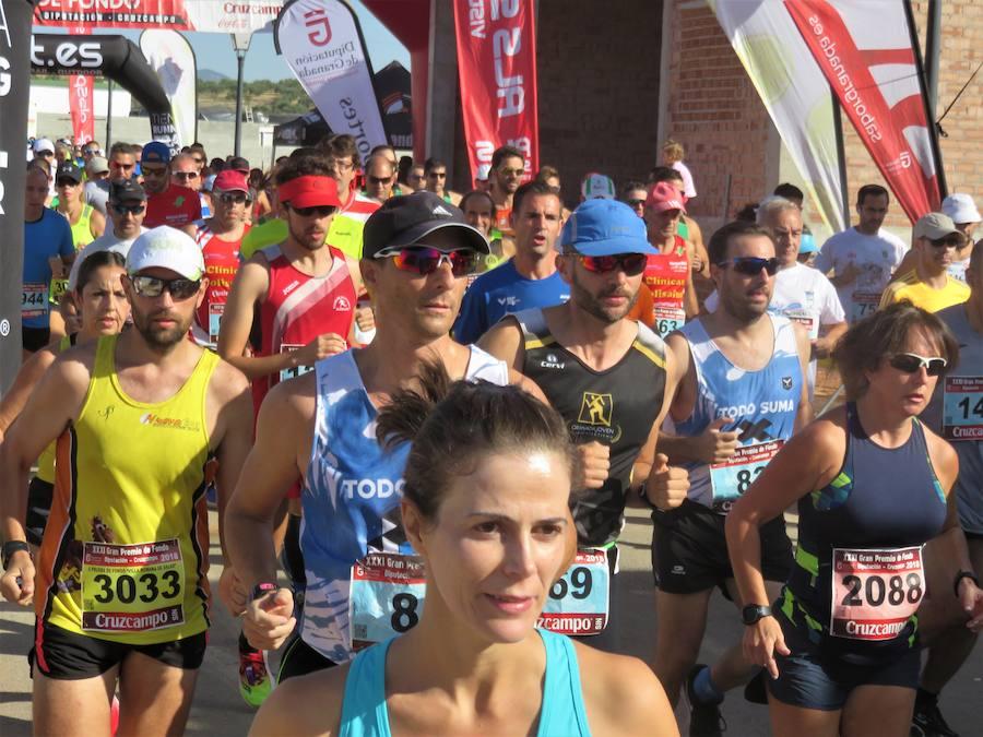 Más de 700 corredores participan en la Prueba de Fondo 'Villa Romana de Salar'