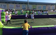 120 futbolistas de entre 4 y 12 años participan en el torneo 'Titanitos Cup' en Huétor Tájar