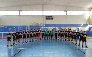 La Federación Andaluza de Balonmano entrena en Huétor Tájar