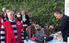 La Gala de Corte de Jamón recauda más de 1.200 euros para Cruz Roja Loja