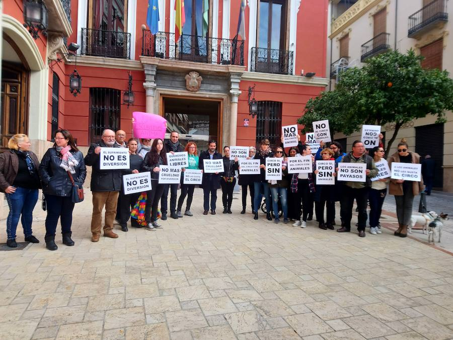 Fregrapa y SOS Animalicos Loja reclaman la prohibición de los circos con animales