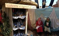 Miles de personas visitan el Belén Viviente de Huétor Tájar