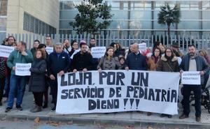 Los vecinos vuelven a concentrarse por la falta de pediatras en Loja