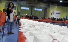 El 'Súper Rosco de Loja' reparte 2.000 raciones para colaborar con Manos Unidas