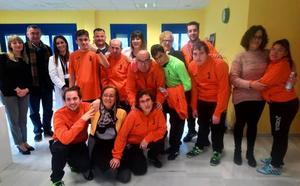 La residencia 'Sierra de Loja' estrena equipo de fútbol sala