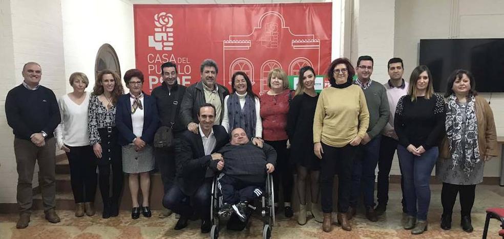 El PSOE de Loja encara las municipales «con una candidatura con eficacia e ideas»