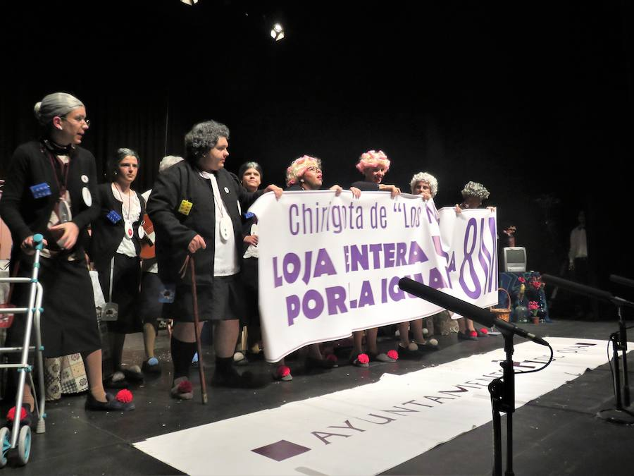 Calidad reivindicativa en la Final del XXIII Concurso de Agrupaciones de Carnaval de Loja
